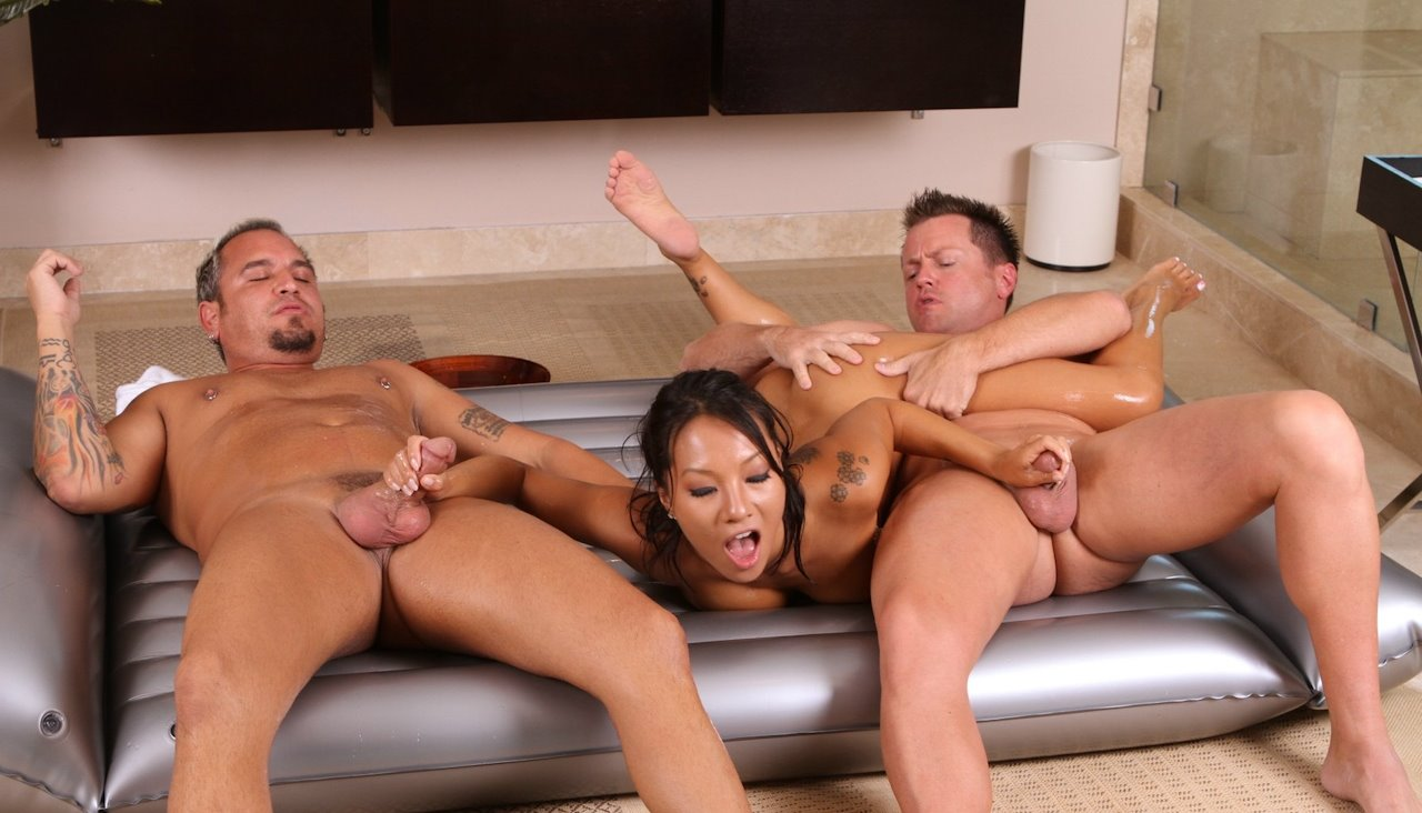 A hot massage turns into hot slamming 7